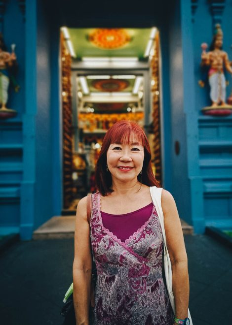 One of our expert Singaporean foodie guides