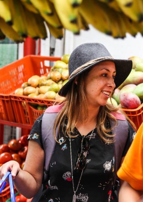 Getting lost in this Bogota foodie market