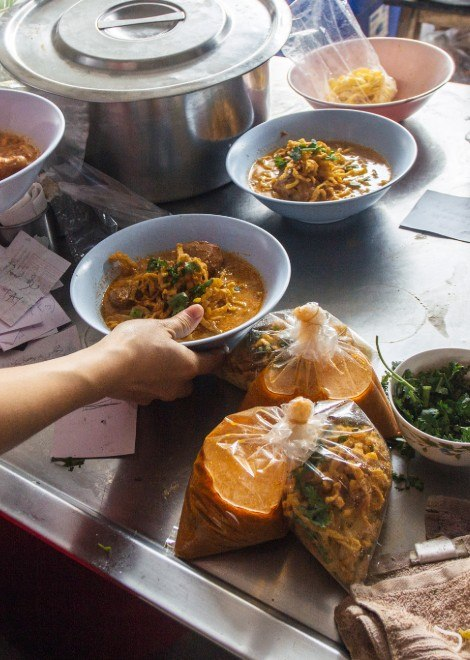 You'll never find this khao soi joint in Chiang Mai alone