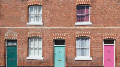 Mid-terraced house
