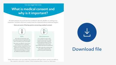 Download image - medical consent