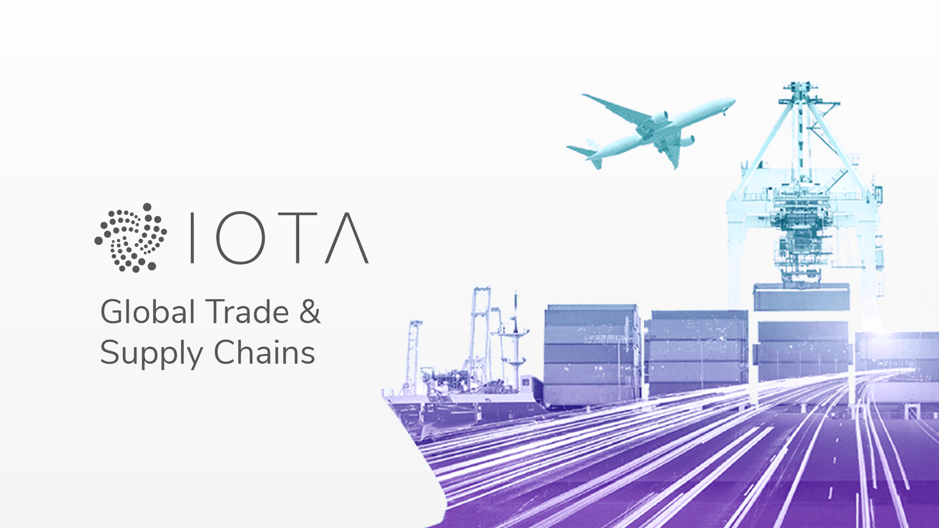 Global Trade & Supply Chains | IOTA