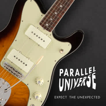 A New Kind of Jazzmaster: The Parallel Universe Jazz-Tele