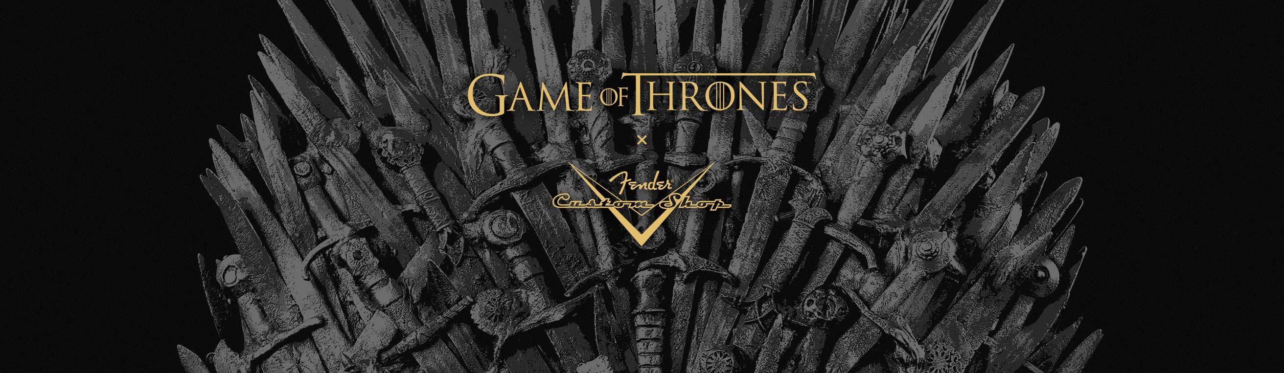 Fender Game of Thrones Sigil Collection | Fender Custom Shop