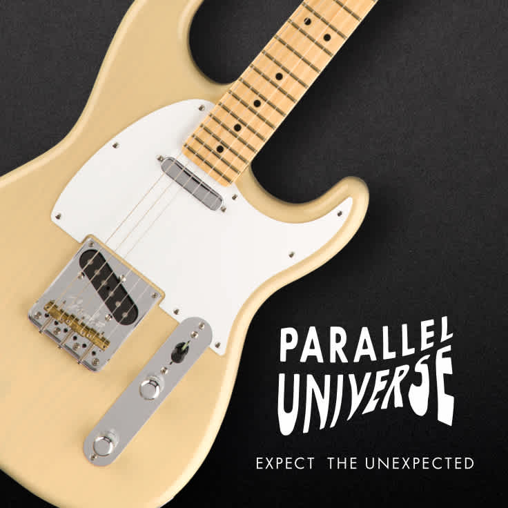 Inside the Fender Parallel Universe Whiteguard Strat