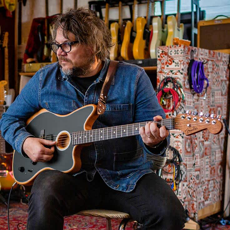 Fender Re-Creation: Wilco's Jeff Tweedy Performs 'Impossible Germany'