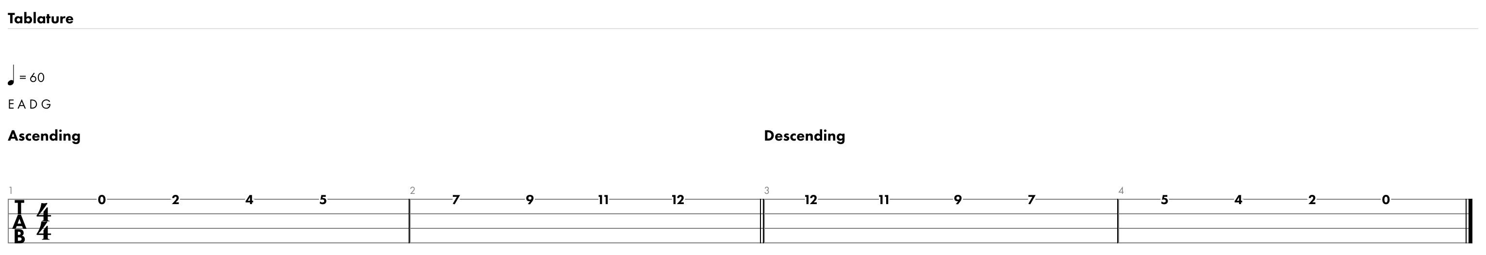 G Major Scale (enlarged)