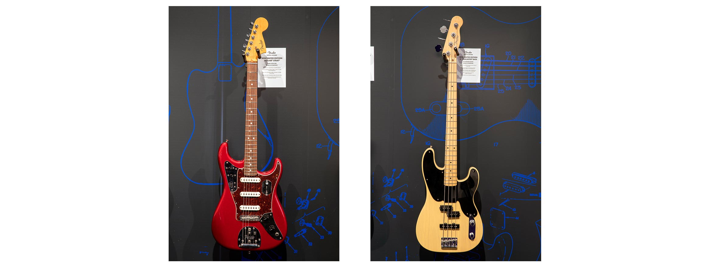 Fender Parallel Universe Guitar & Bass Collection | Fender Hybrid ...