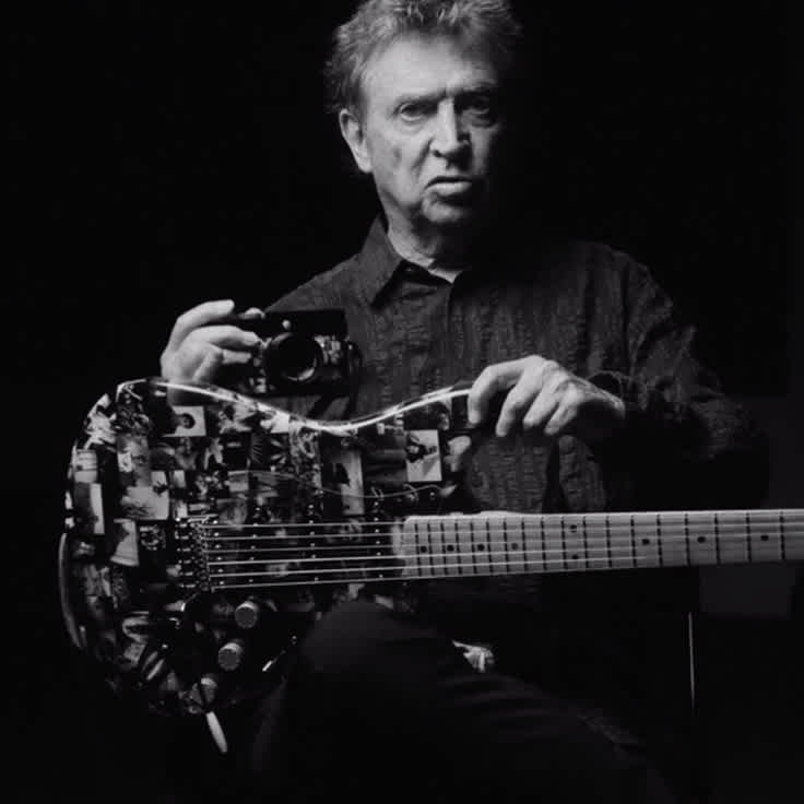 Andy Summers Combines Music and Photography with Signature Monochrome Strat
