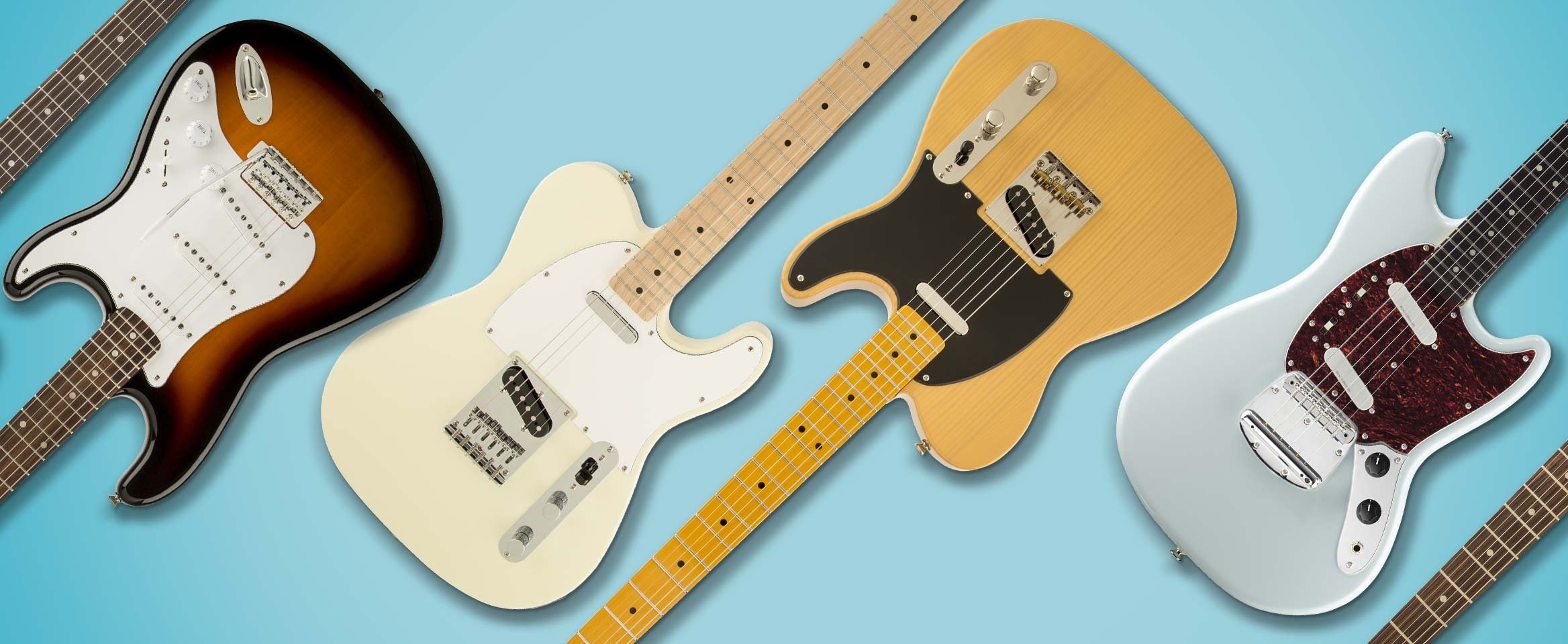 7 electric guitars for beginners fender guitars. Black Bedroom Furniture Sets. Home Design Ideas