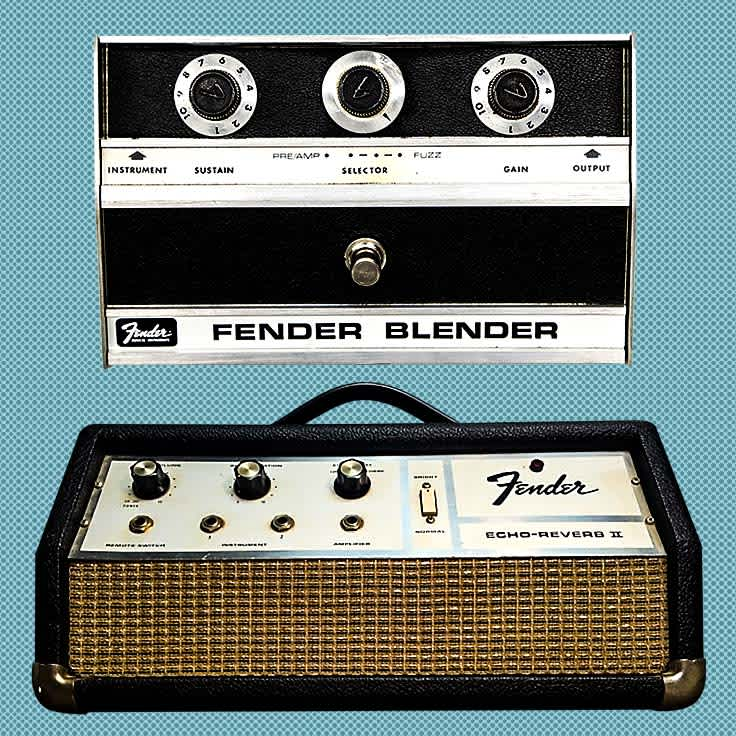 Vintage Fender Effects From the 1950s-1980s