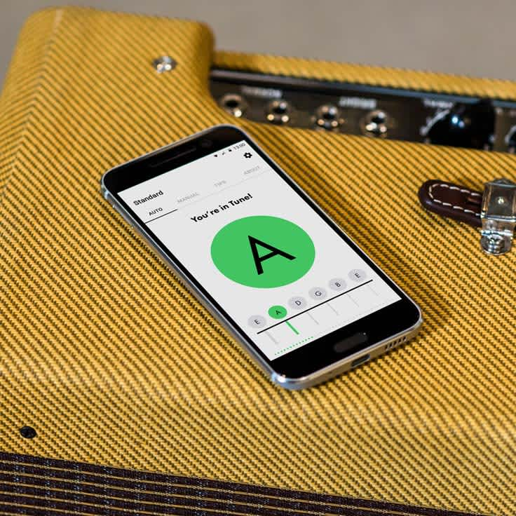 Tune In, Tune Up: Fender Tune App Now on Android and iPhone