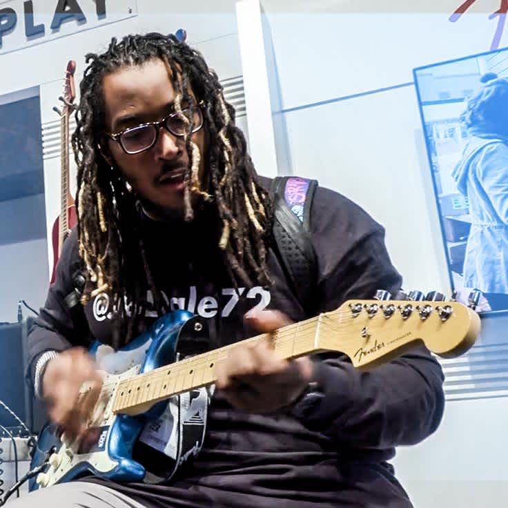 A Conversation with ... Joe Barksdale on Going from Gridiron to Guitar