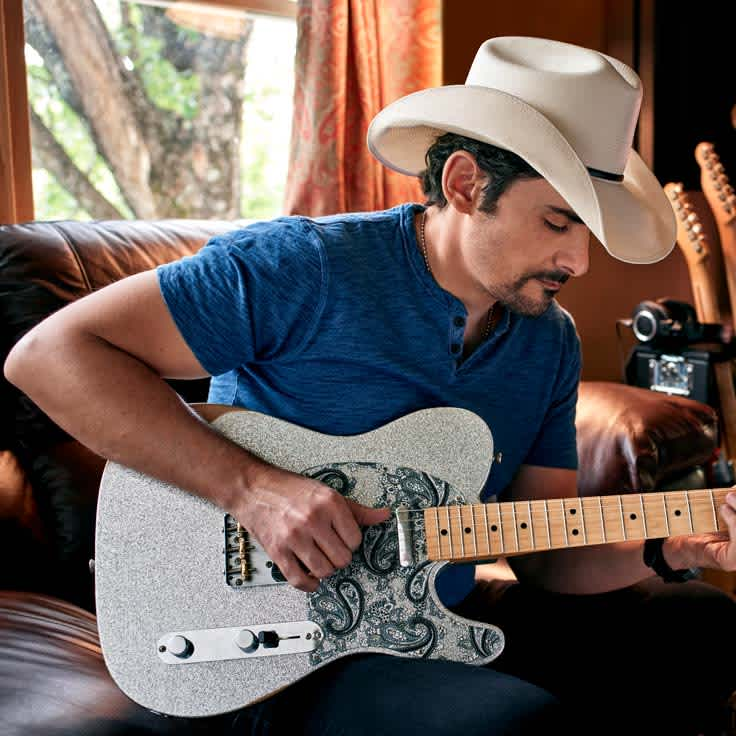 Brad Paisley on His New Signature Tele and the Power of Playing Music