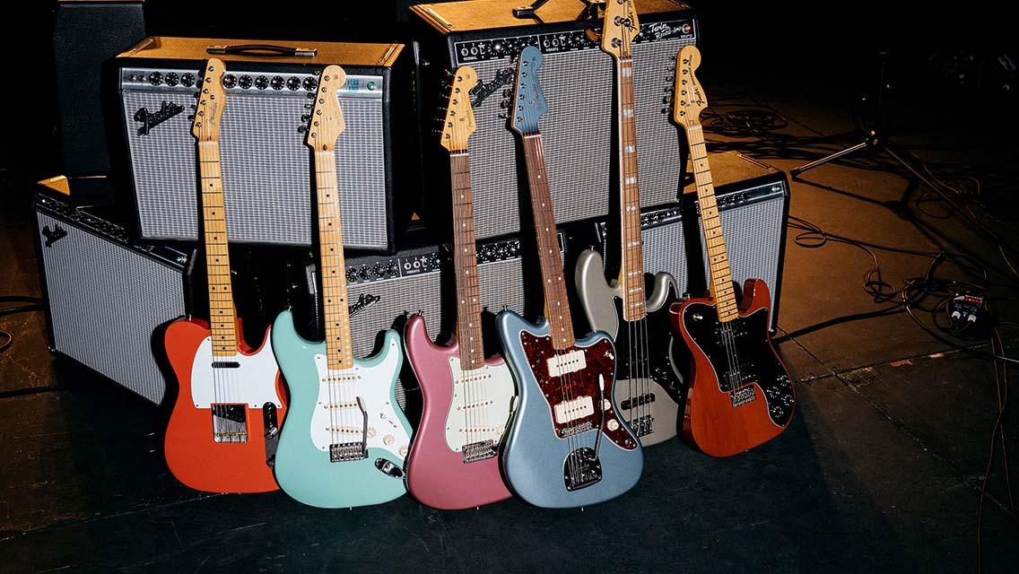 Fender Guitars | Electric, Acoustic & Bass Guitars, Amps
