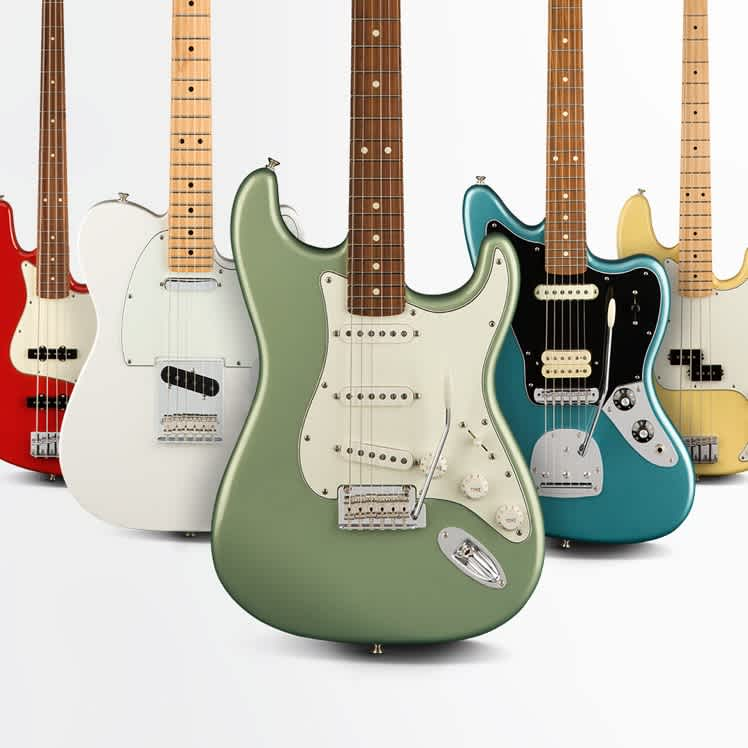Often Imitated, Never Duplicated: Inside the Fender Player Series