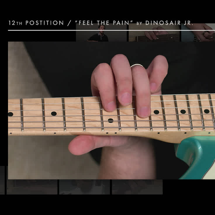 Learn How to Play 'Feel the Pain' by Dinosaur Jr.