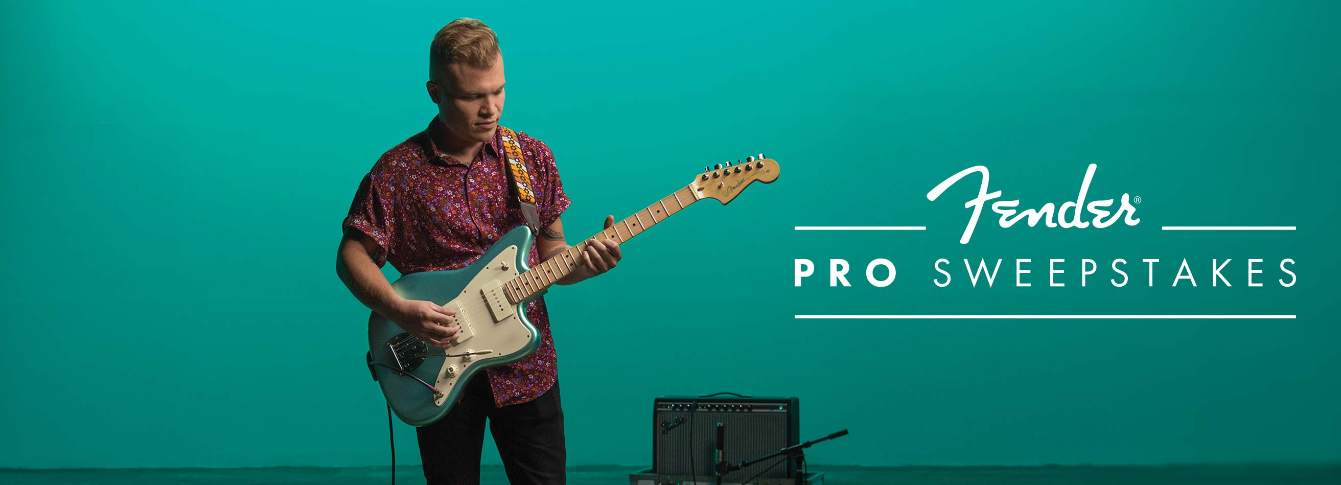 The Fender Pro Sweepstakes