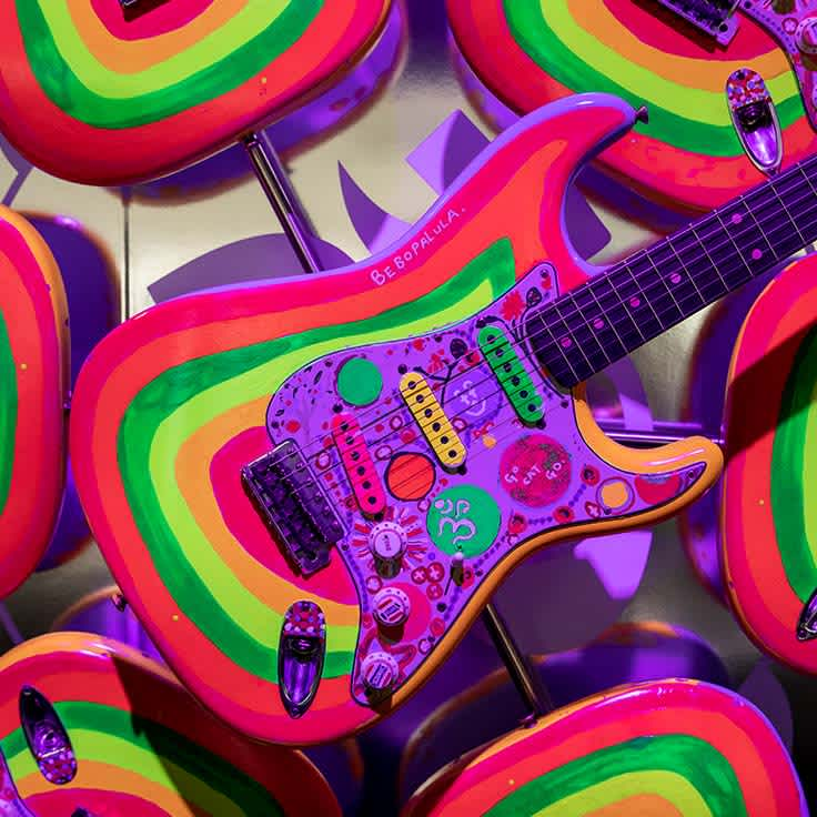 A Glowing History: See the New George Harrison Custom Shop 'Rocky' Strat