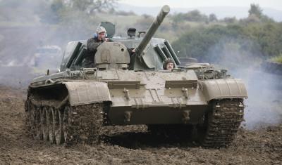 Tank Ride (be a passenger)