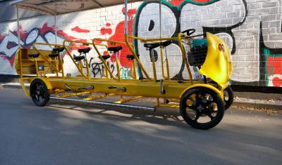 Sporty Bier Bike (bis zu 9 Pers.)