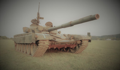 Battle Tank T-72 Driving Experience