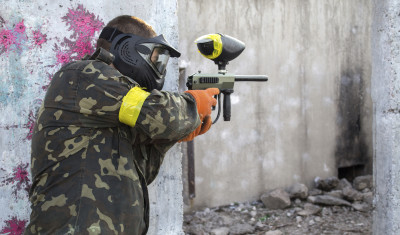 Outdoor Paintball (500 Bälle)