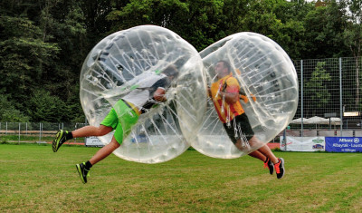 Bubble Football Outdoor (1 hour)