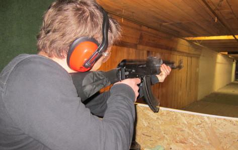 Tirs à la Kalashnikov (1-8 pers.)