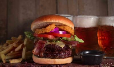 Burger og øl