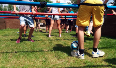 Human Table Football (5 - 8  ppl.)