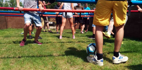 Human Table Football  (12 - 16 ppl.)