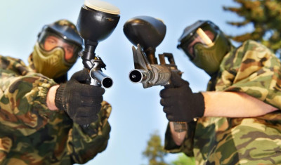 Indoor-Paintball (700 Kugeln)