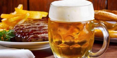 Steak & Unlimited Beer