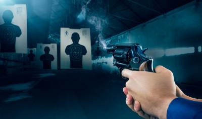 Pistolen-Schießstand