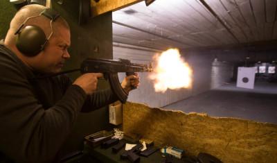 AK-47 Schießen