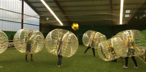 Bubble-Fußball mit 8 Bubbles