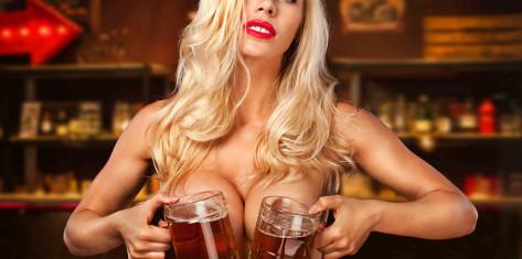 Men's Night (spectacle de strip-tease + service topless)