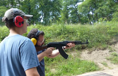 Kalashnikov skydning