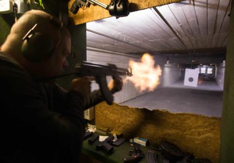 AK-47 Ekstremskyting