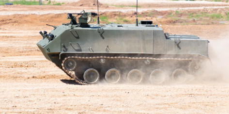 Stag Drives Tank (Armoured Vehicle) (9-11pax)