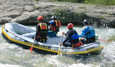 Wildwasser-Rafting JGA-Spezial