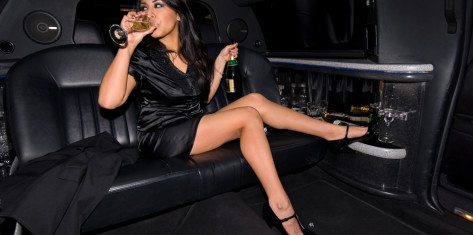 Airport transfer Lincoln Limo with Stripper