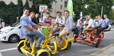 Konferenz-Bike