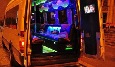 Pink Party Bus (up to 13 ppl.)