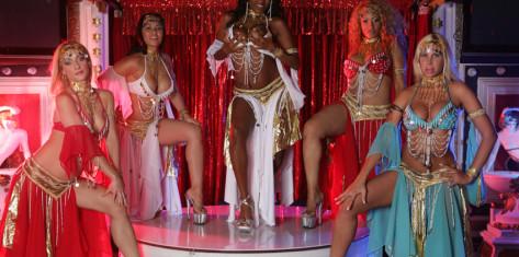 Spectacle Erotique au Club Bagdad