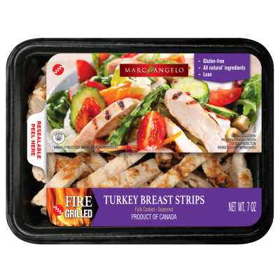 Turkey Breast Strips Packaging