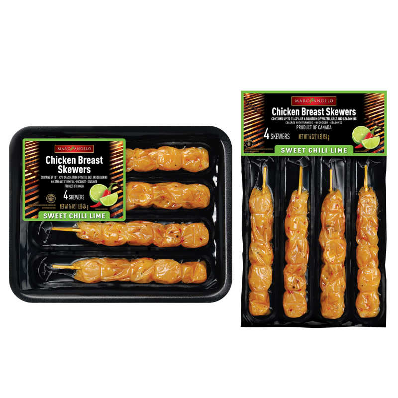 Sweet Chili Lime Chicken Breast Skewers Pkgx2
