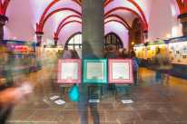 Stirring exhibition held in Frankfurt