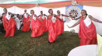 Traditional dance in Rwanda